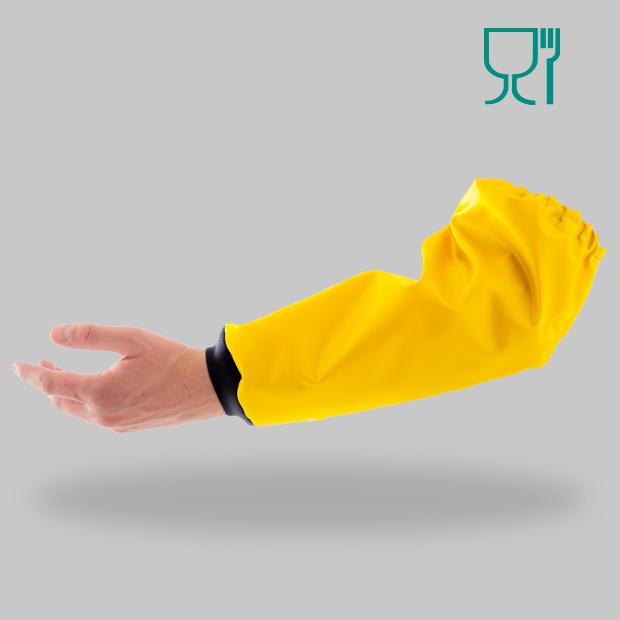 POLYURETHANE-JULIET-Manchettes-jaune